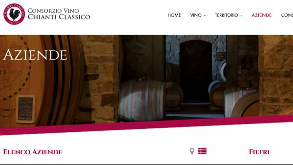 Un grande catalogo online per il Chianti Classico