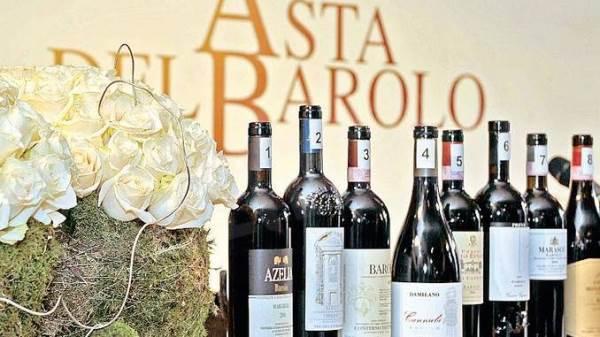 Asta del Barolo: bottiglia battuta a 4.400 euro