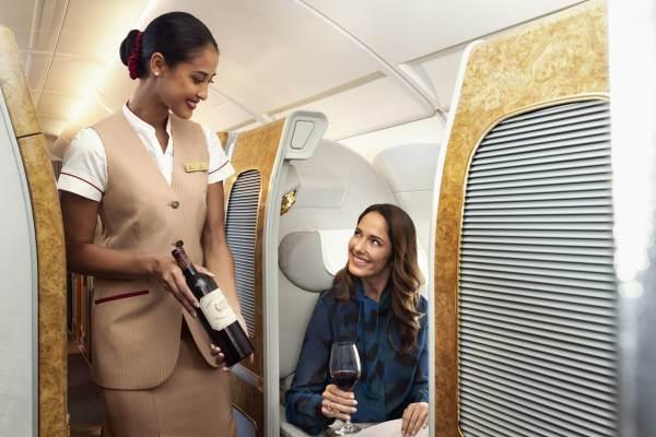 Pioggia di premi a Emirates nella categoria Business Traveller Cellars