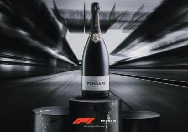 Sul podio della Formula 1 salgono le bollicine italiane