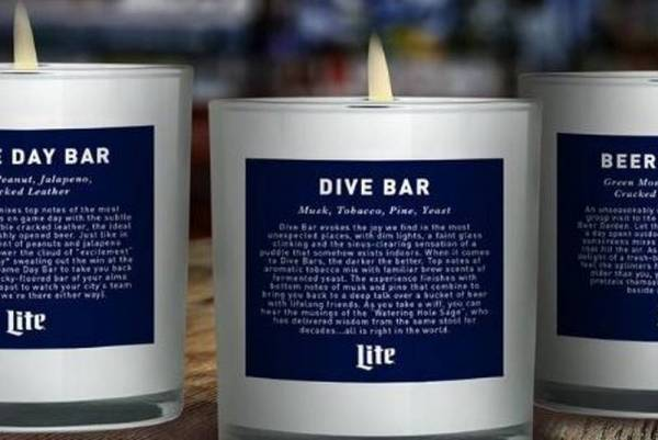 Tre candele limited edition per ricreare l'atmosfera del bar