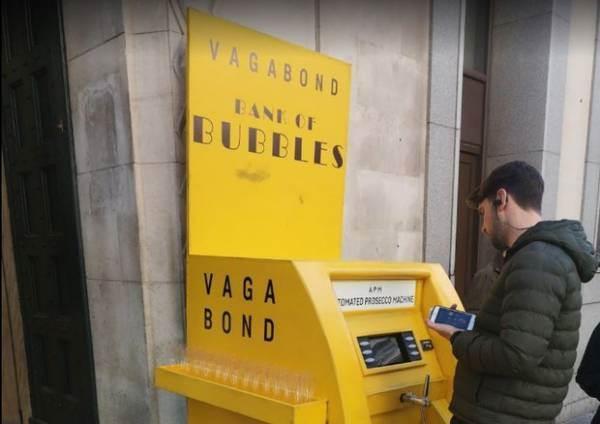 Bancomat del Prosecco a Londra: per il Consorzio è una frode