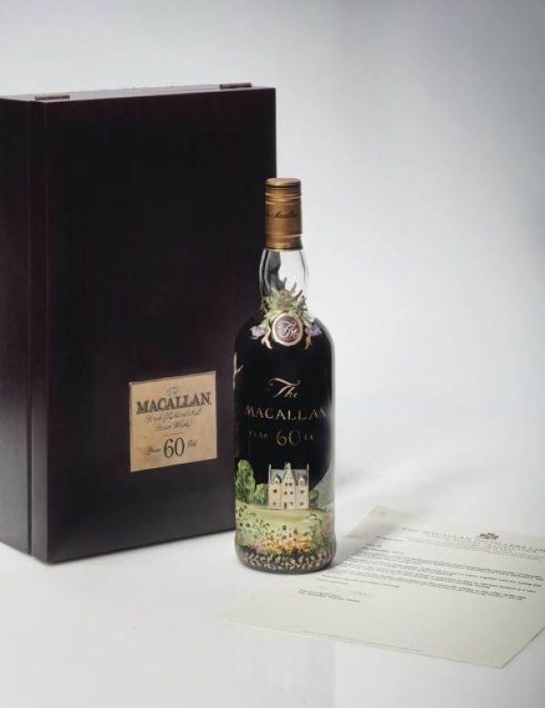 Quanto può valere una bottiglia di whisky? Questa più di un milione dice Christie's