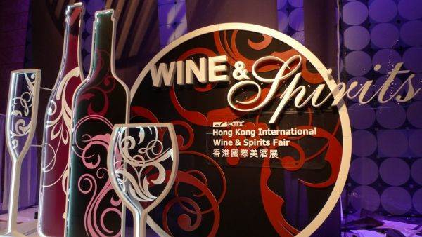 Vetrina del vino italiano con Vinitaly all'Hong Kong International Wine & Spirit Fair