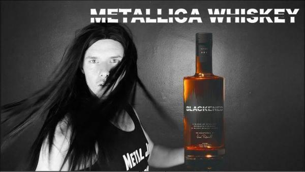 """I Metallica vogliono il brevetto del loro metodo d'""""affinamento sonoro"""" per il whisky"""