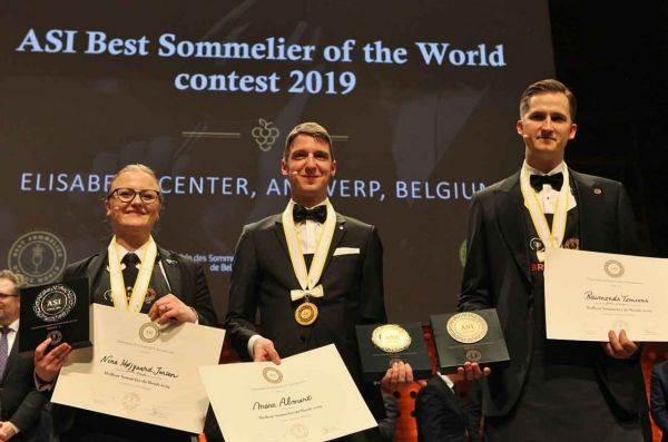 Marc Almert, tedesco, 27 anni, è il miglior sommelier del mondo 2019