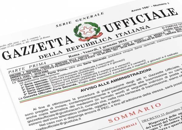 Misure urgenti sulla disciplina sanzionatoria in materia di sicurezza alimentare