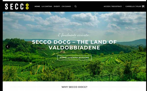 Il Prosecco Docg di Valdobbiadene fa rete con un portale unico di e-commerce