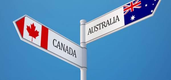 Vino: accordo tra Canada e Australia