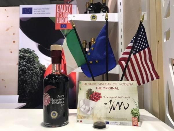 Continua l'esperienza americana dell'Aceto Balsamico di Modena IGP