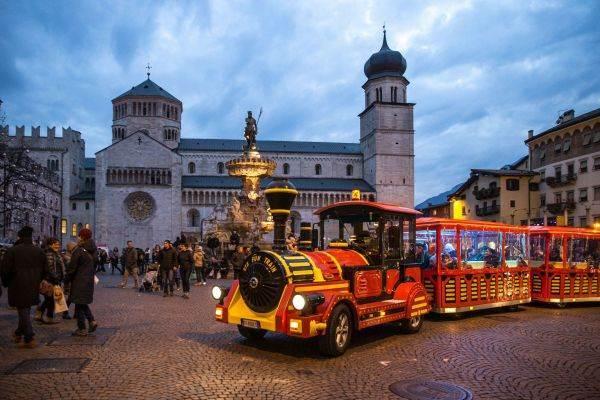 Il cuore verde del mercatino di Natale di Trento