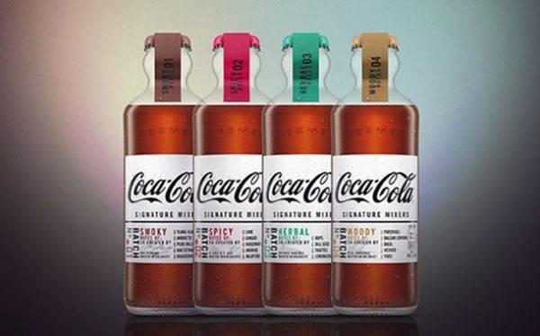 Coca-Cola cocktail: nascono i Signature Mixers per whisky, bourbon e rum.