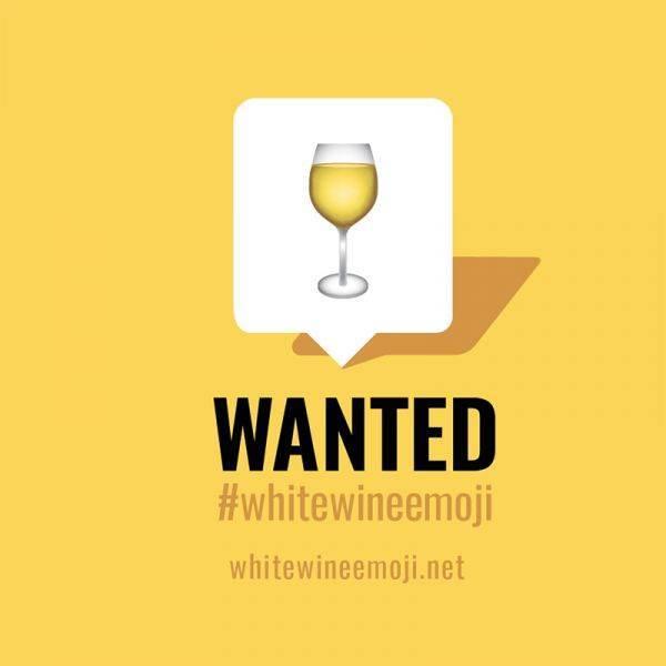 Finalmente in arrivo la White Wine Emoji, l'icona del vino bianco