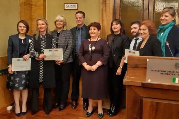 Donne per il Made in Italy: premiate Chiara Lungarotti e la famiglia Nonino