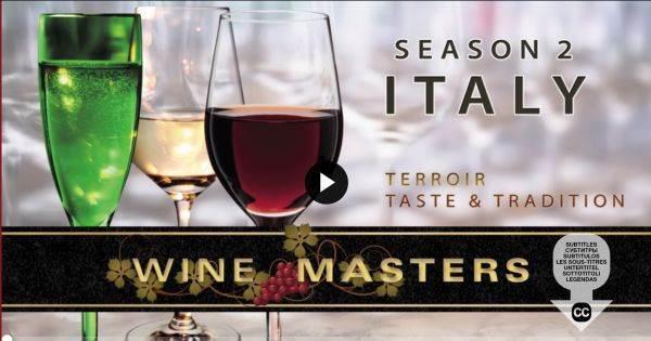 I vini italiani protagonisti della seconda stagione di Winemasters