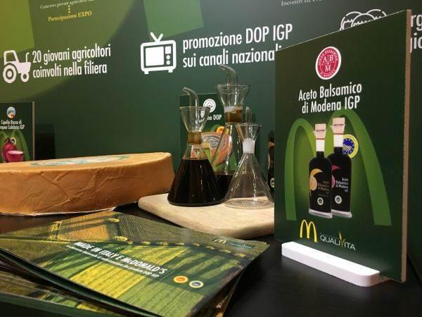 Aceto Balsamico di Modena Igp e McDonald's rinnovano la partnership
