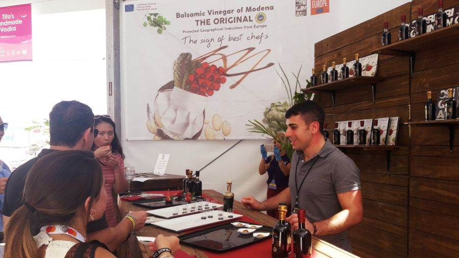 Aceto Balsamico di Modena Igp, dal New York Wine and Food Festival a Modena Champagne Experience
